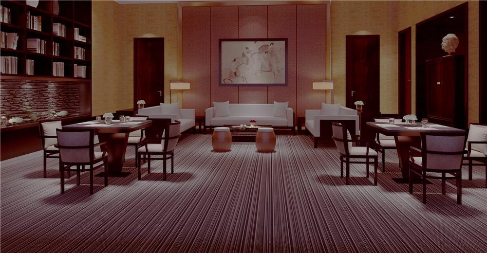 餐饮案例2 F丝编织地毯