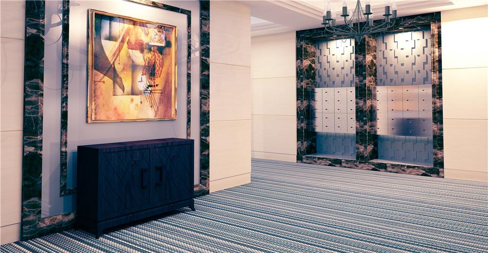 新型绿色环保PVC编织地毯具备着什么样的优良特性?